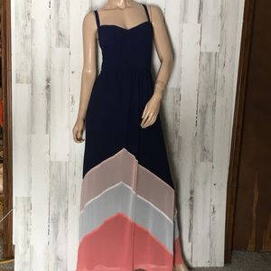 Torrid Maxi Chevron Dress